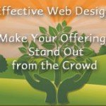 Effective Web Design: Make Your Offerings Stand Out From the Crowd