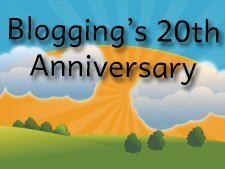 Happy 20th Anniversary to Blogging! | Blue Zenith