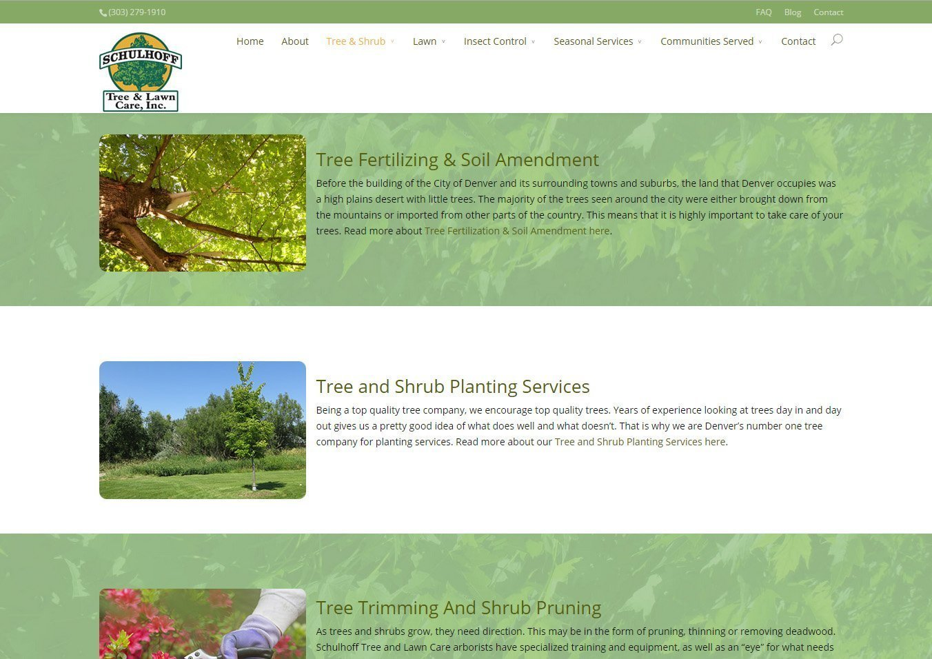 Schulhoff Tree & Lawn Care - Tree & Shrub