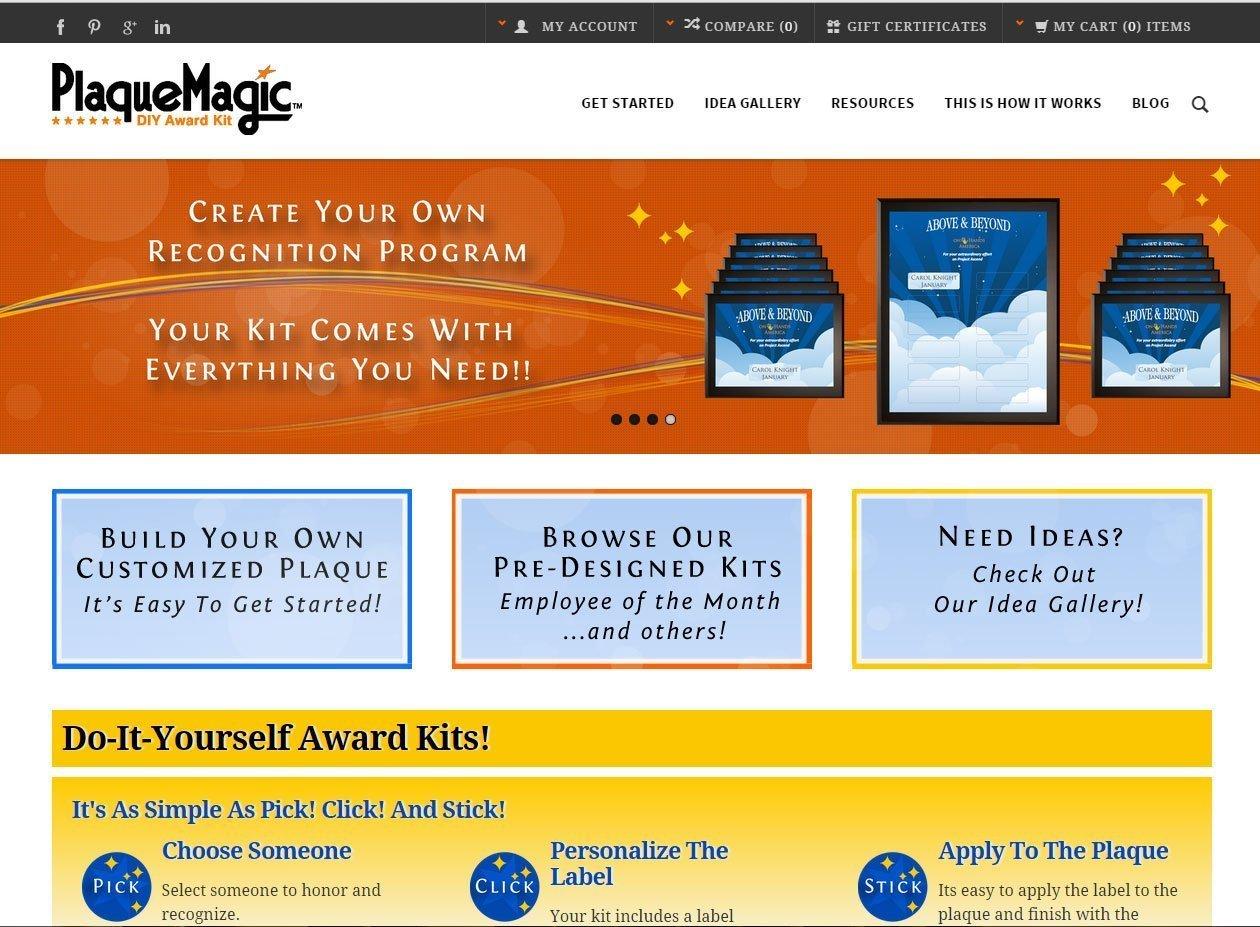 Plaque Magic Ecommerce Website