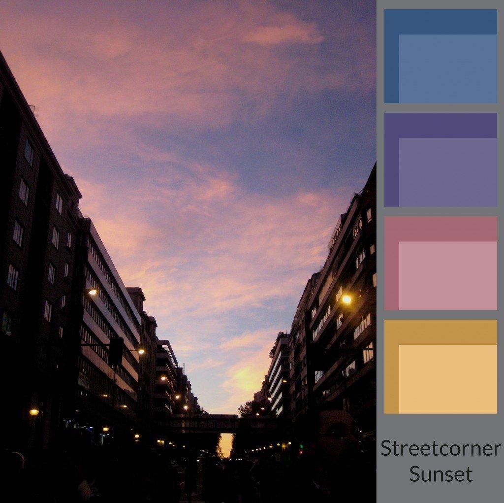 Streetcorner's Sunset