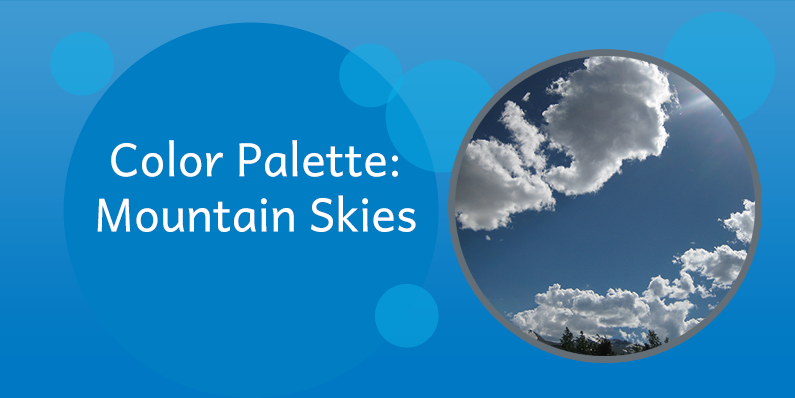 Color Palette: Mountain Skies
