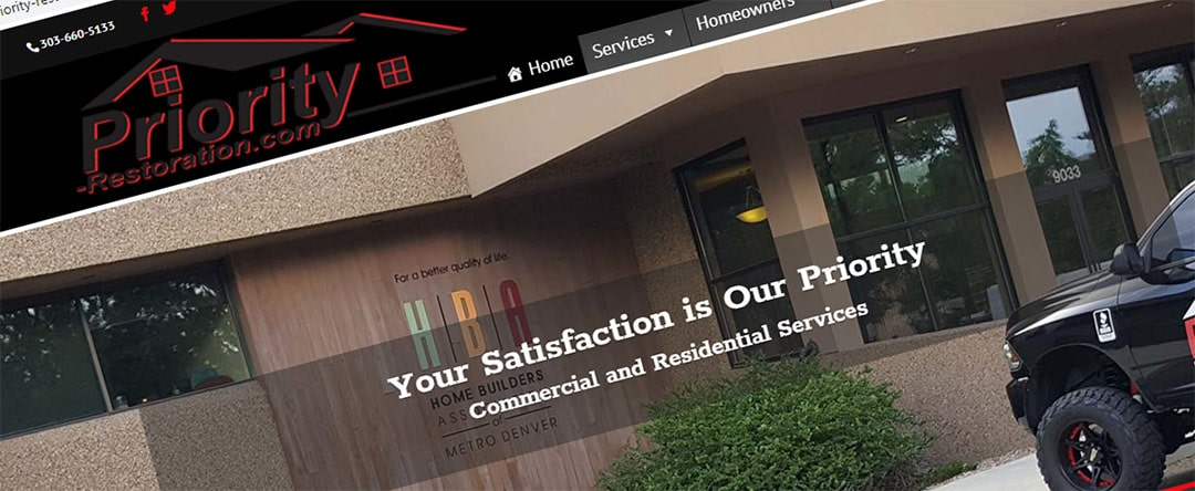 Priority Restoration's Home Page