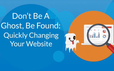 Quickly Changing Your Website