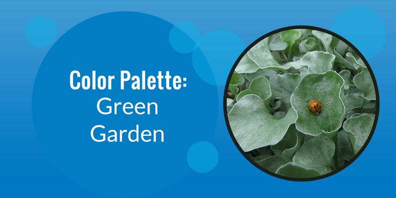 Color Palette: Green Garden