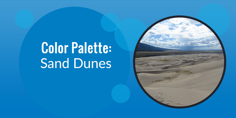 Color Palette: Sand Dunes