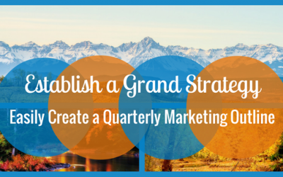 How to Easily Create a Quarterly Content Marketing Outline