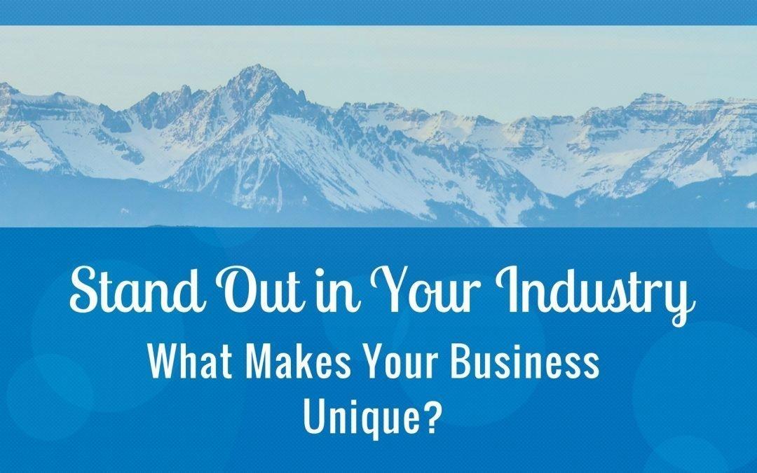 What Makes Your Business Unique?