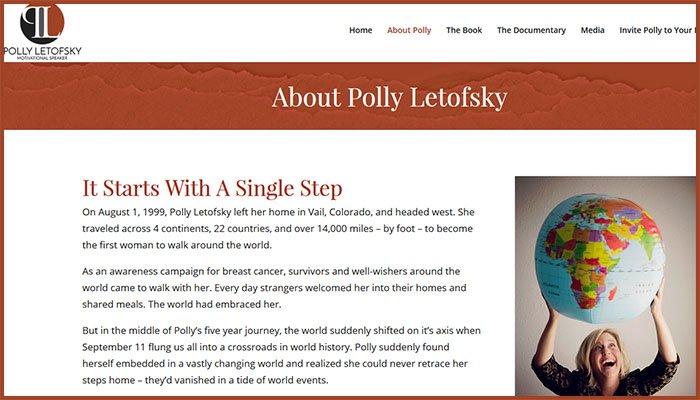 Polly Letofsky Website
