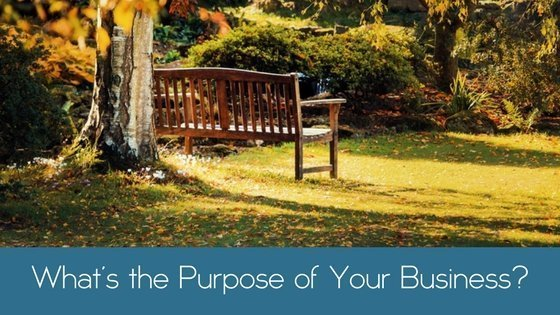 What's the Purpose of Your Business?
