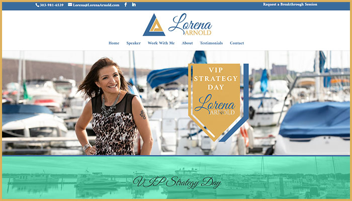 Lorena Arnold's Website