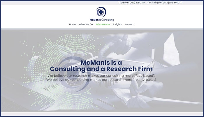 McManis Consulting Website