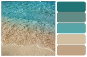 Color paleete for july 2020 blog