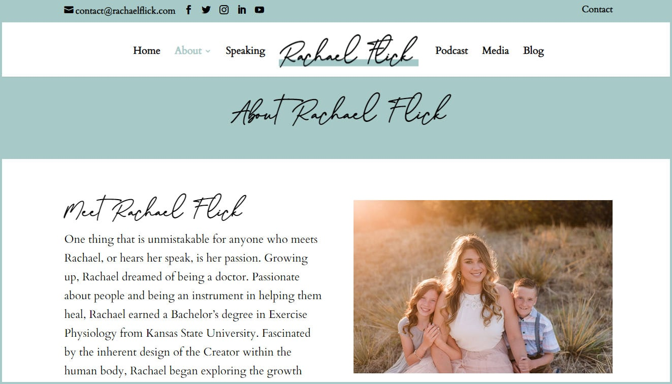 About Rachael Flick
