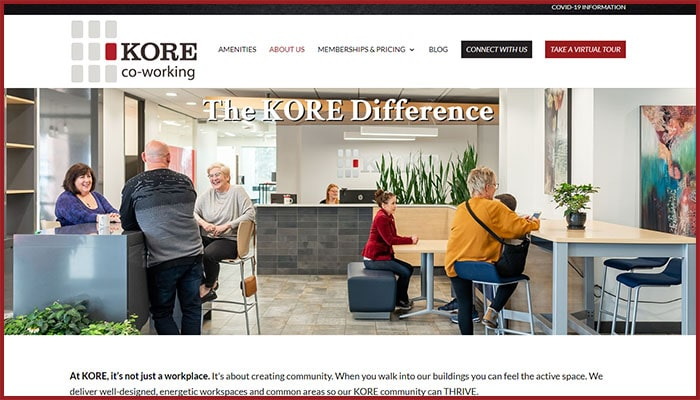 KORE co-working: The KORE Difference