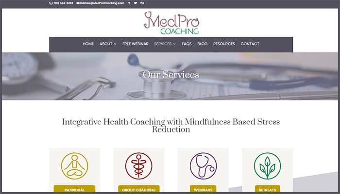 MedPro Coaching's Services