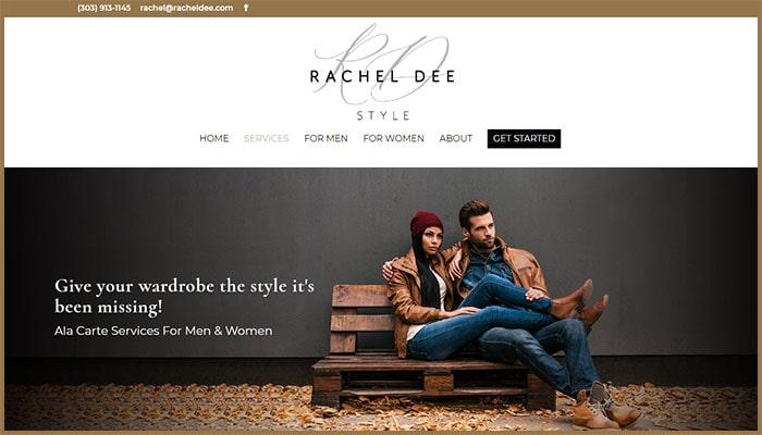 Rachel Dee's Services Page