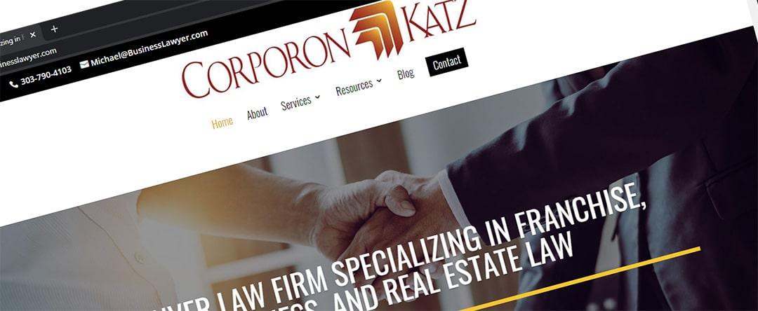 Corporon & Katz - The Business Lawyer