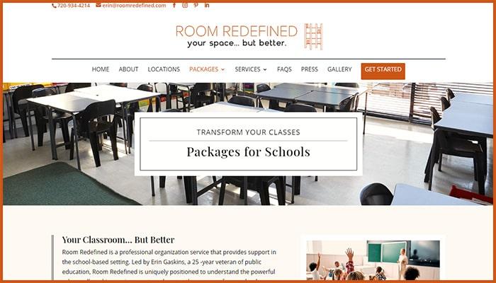 Room Redefined's Website